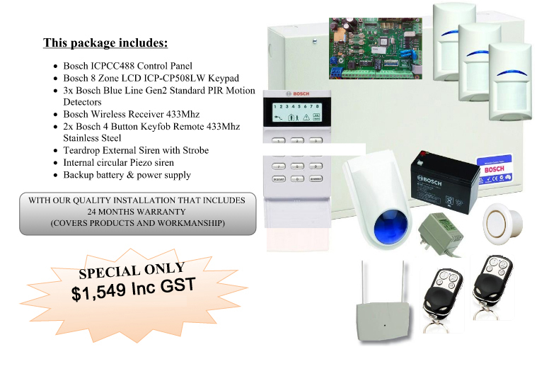 BOSCH ICP488 & Blue-line Package