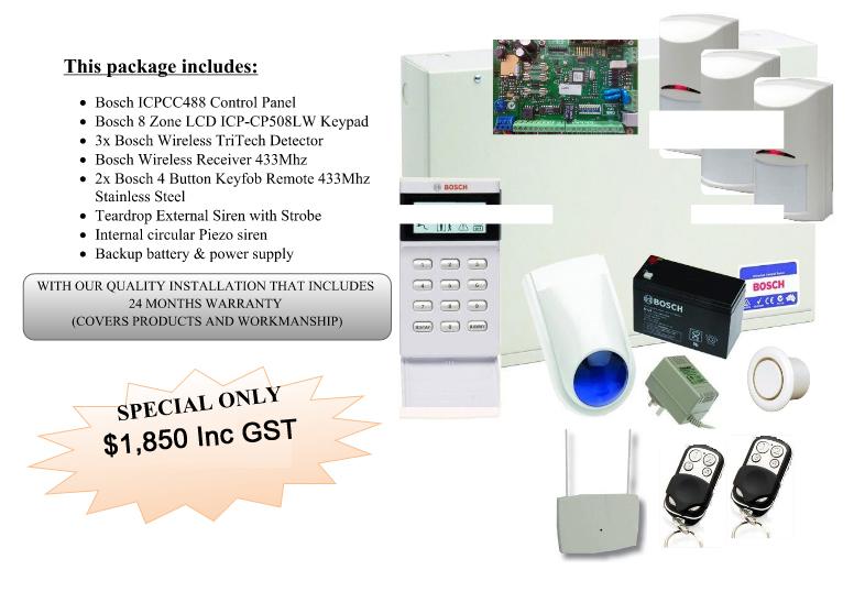 BOSCH ICP488 & Tri-tech Package