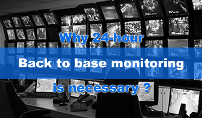 Back-to-base-monitoring